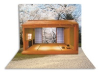 Tea House Pop-Up Card